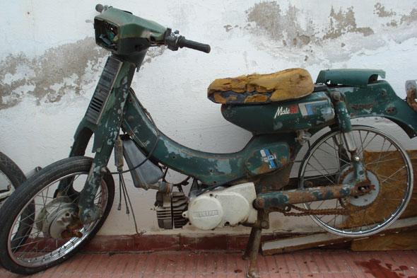 Motorcycle Yamaha Mate 50