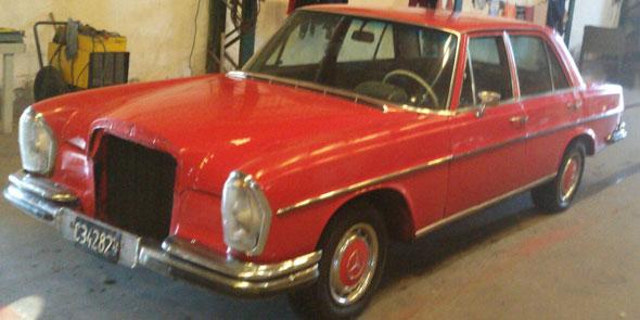 Auto Mercedes Benz 280SE 1970