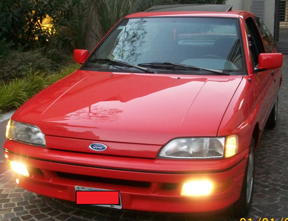 Auto Ford Escort XR3 2.0I