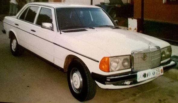Car Mercedes Benz 1981