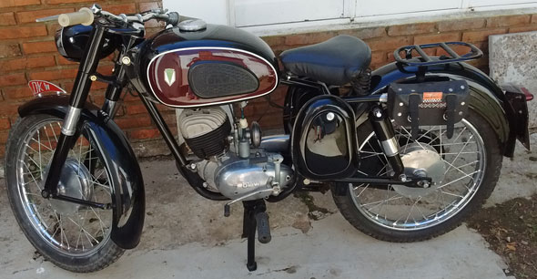 Motorcycle DKW RT 150