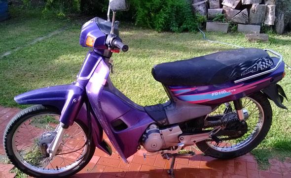 Car Suzuki 110 FD Love 110