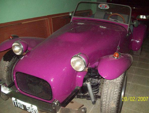 Auto Lotus Seven 1969