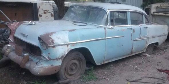 Auto Chevrolet 1955