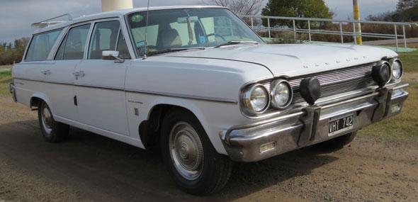 Car Rambler Classic 1969