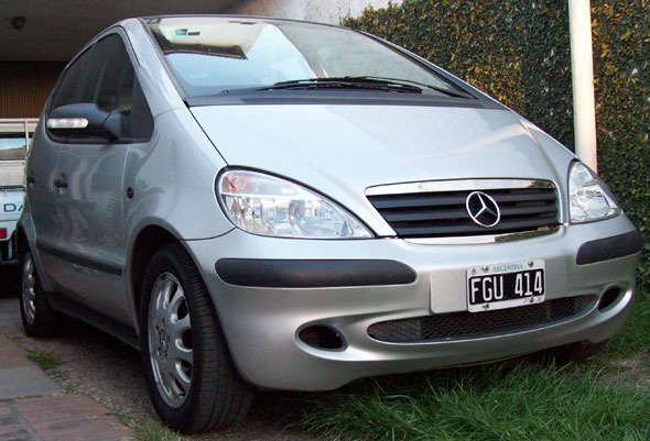 Car Mercedes Benz Clase A 2005