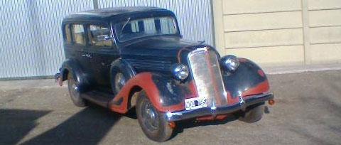 Auto Buick 1934 S47