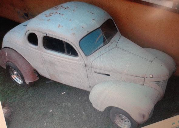 Car Plymouth 1939