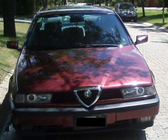 Car Alfa Romeo 155 1995