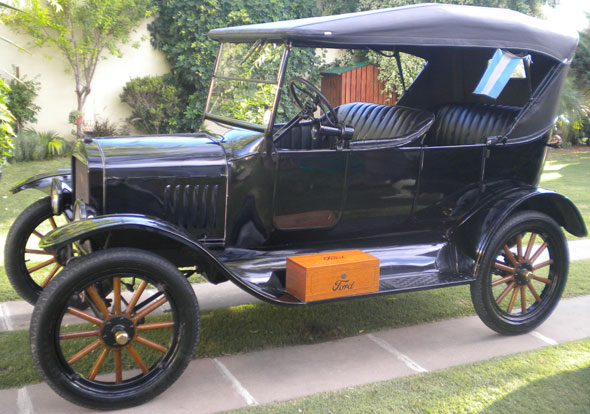 Auto Ford T 1924