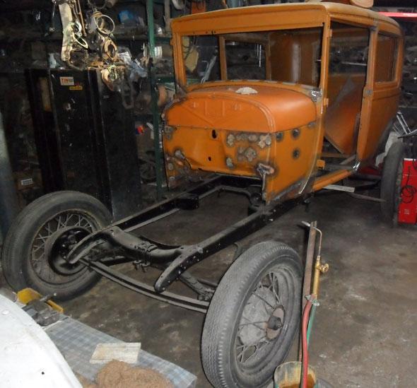 Auto Ford A Tudor 1929