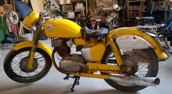 Motorcycle NSU 250
