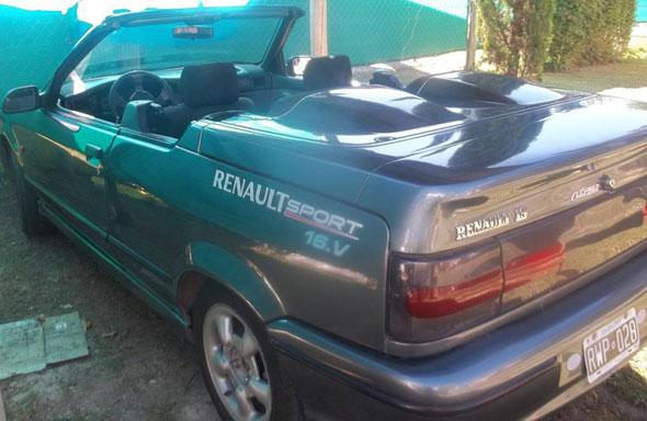 Car Renault 19 Cabriolet 1994