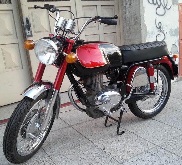 Motorcycle Gilera 215