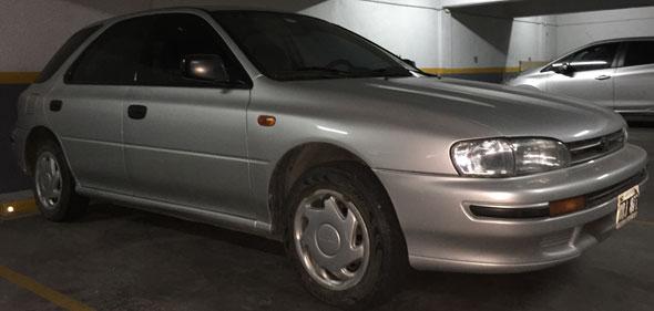 Car Subaru Impreza 1995