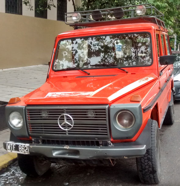 Auto Mercedes Benz GD 240