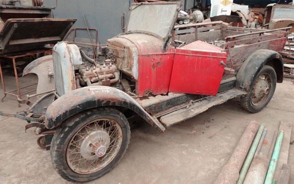 Auto Whippet 1928