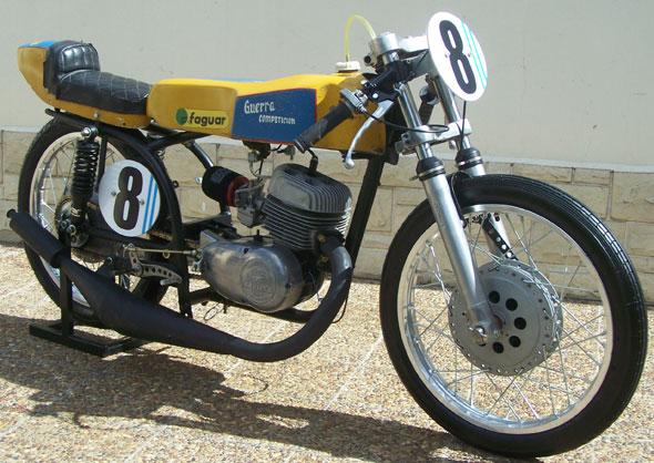 Motorcycle Zanella Desafio 180 1978