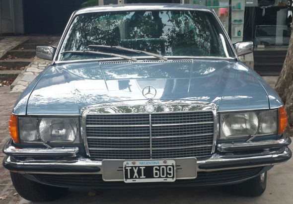 Car Mercedes Benz 350 SE