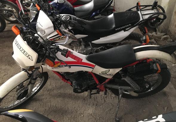 Moto Honda TLR 200 Reflex