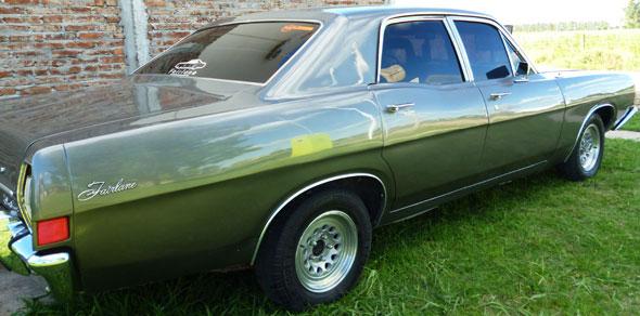 Auto Ford Fairlane 1970