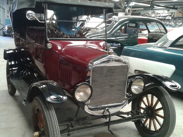 Car Ford T 1925