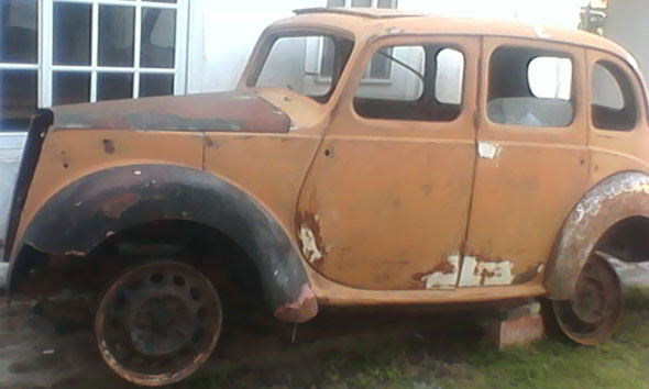 Car Wolseley 8