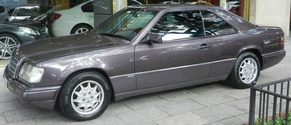 Car Mercedez Benz E320 Sportline