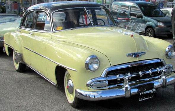 Car Chevrolet 1952 De Lujo