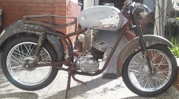 Motorcycle Alpino 75