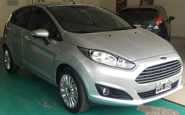 Car Ford Fiesta KD SE