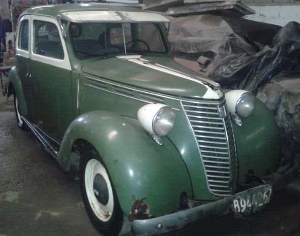 Car Fiat Balilia  1937