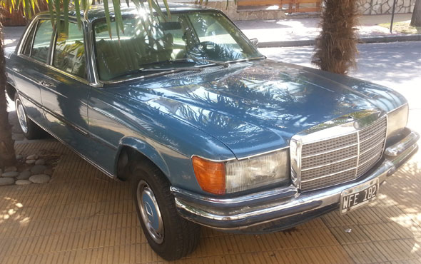 Car Mercedes Benz 280SE 1979
