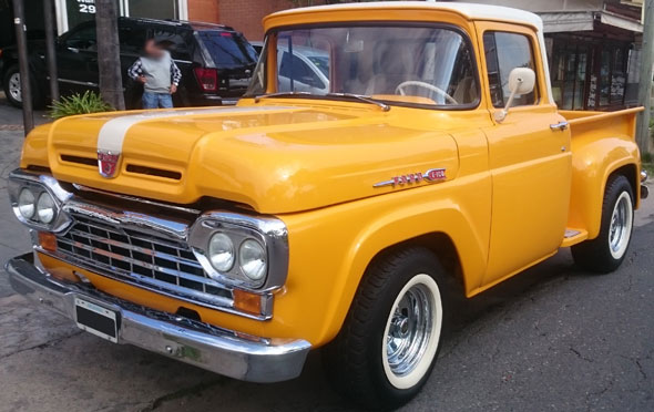 Car Ford F100 60 Loba