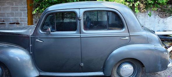 Auto Vauxhall 1950