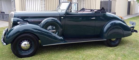 Auto Buick 1936 Cabriolet