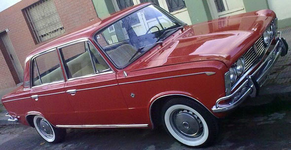 Car Fiat 1600 Berlina