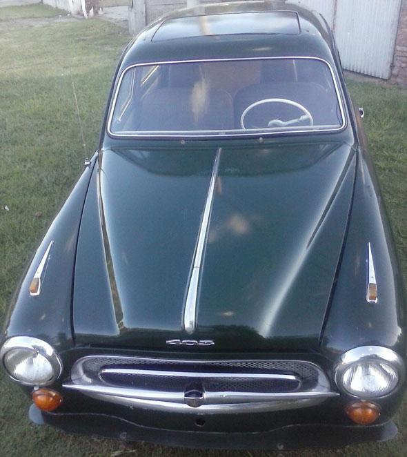 Car Peugeot 1962