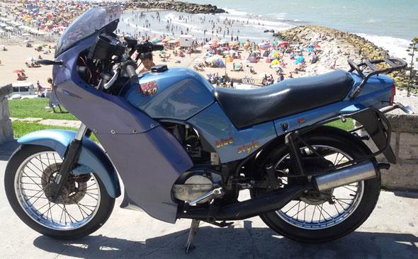 Auto Jawa 350 / 640 Style Super Sport