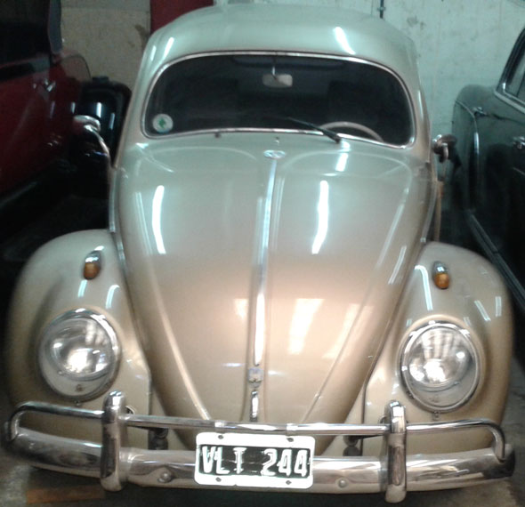 Car Escarabajo 1957