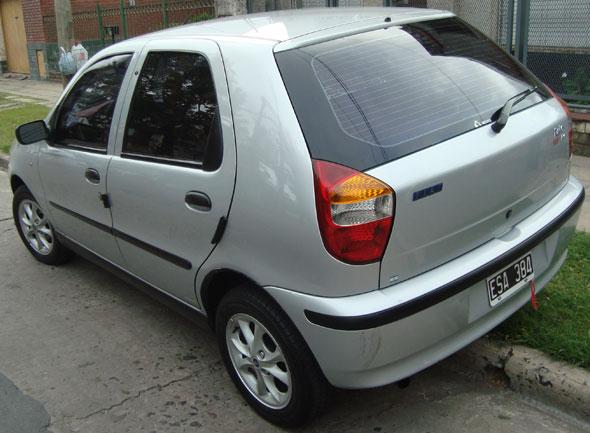 Car Fiat Palio Fire