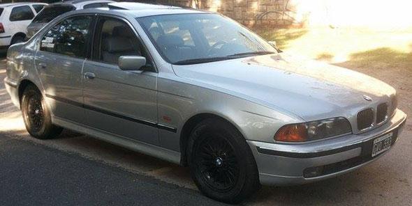 Auto BMW 540