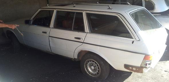 Car Mercedes Benz Rural Turbo D 1980