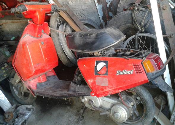 Moto Yamaha Salient 1980