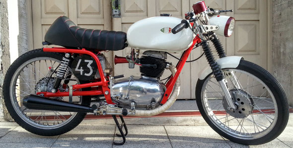 Moto Gilera Cafe Racer 150 Super Sport