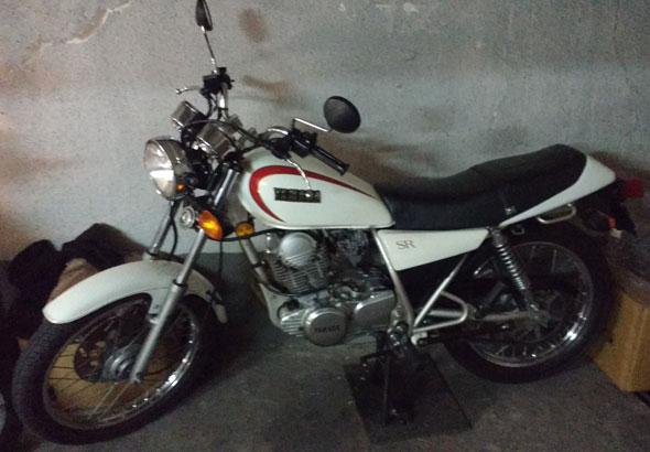 Motorcycle Yamaha SR 250