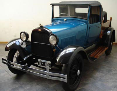 Auto Ford A Pick Up Rodaster