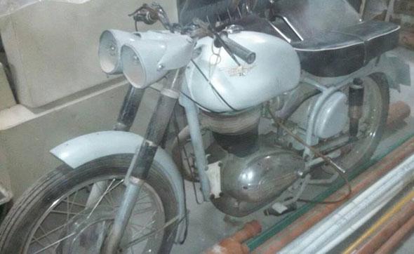 Moto Alpino 250 Bifarólica Mortero