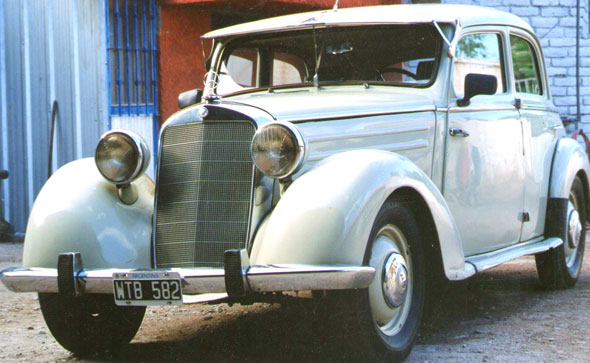 Auto Mercedes Benz 170 SD