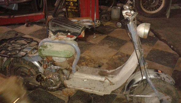 Moto Siambretta Sport 1956